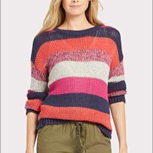 Stitches & Stripes | Chunky Striped Sweater